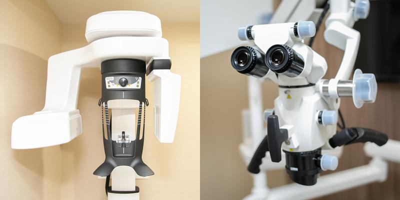 コンセプト05 設備の充実で治療精度の向上を目指す
